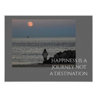 Happiness Is A Journey -- Art Print