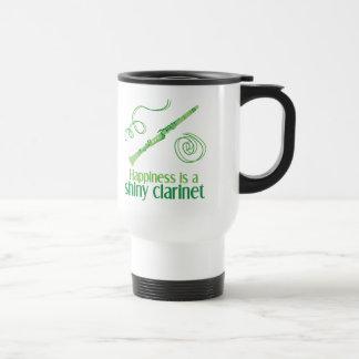 Happiness is a Shiny Clarinet Coffee Mug
