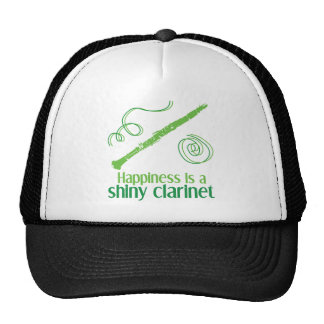Happiness is a Shiny Clarinet Trucker Hat