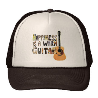 Happiness is a Warm Guitar Trucker Hat