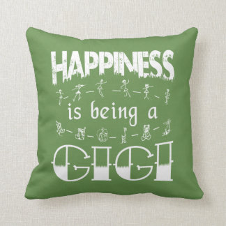 Happiness is Being a GIGI Cushion