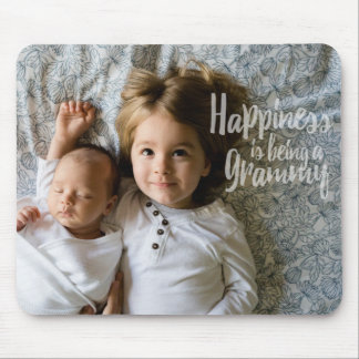 Happiness Is Being A Grammy Mouse Pad