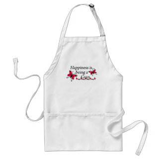 Happiness Is Being A Gran BUTTERFLY Standard Apron