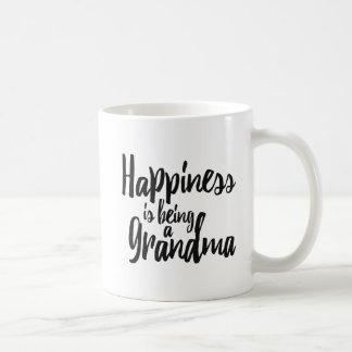 Happiness is being a Grandma Coffee Mug
