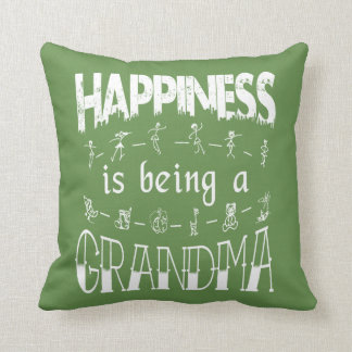 Happiness is Being a GRANDMA Cushion
