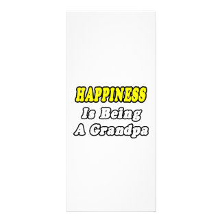 Happiness Is Being a Grandpa Rack Card Template