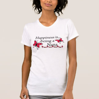 Happiness Is Being A Nana BUTTERFLY Shirts