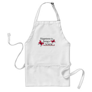 Happiness Is Being An Granny BUTTERFLY Standard Apron