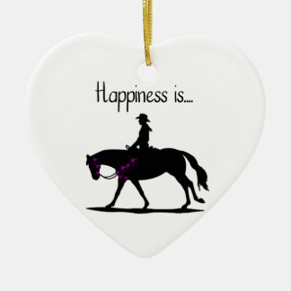 Happiness is... christmas ornament