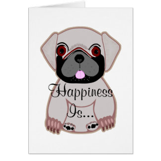 Happiness Is... Greeting Card