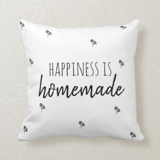 Happiness is Homemade Pillow