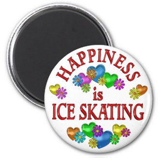 Happiness is Ice Skating Magnets
