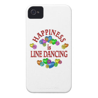 Happiness is Line Dancing iPhone 4 Case-Mate Cases