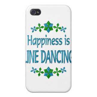 Happiness is Line Dancing Cases For iPhone 4
