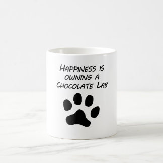 Happiness Is Owning A Chocolate Lab Mug