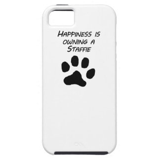 Happiness Is Owning A Staffie iPhone 5 Cases