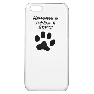 Happiness Is Owning A Staffie iPhone 5C Cover