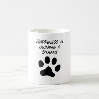 Happiness Is Owning A Staffie Coffee Mugs