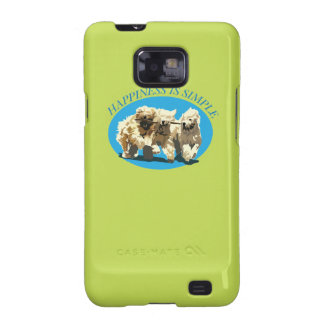 Happiness is simple galaxy SII cover