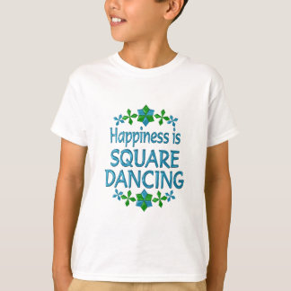 Happiness is Square Dancing T-shirts