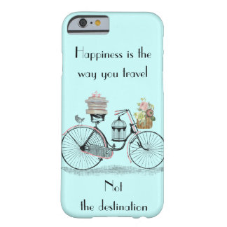 Happiness is the way you travel iPhone 6 case cove Barely There iPhone 6 Case