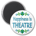 Happiness is Theatre Fridge Magnets