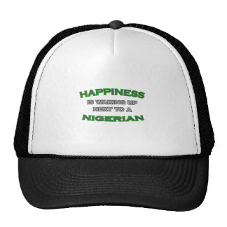 Happiness Is Waking Up Next To a Nigerian Mesh Hats