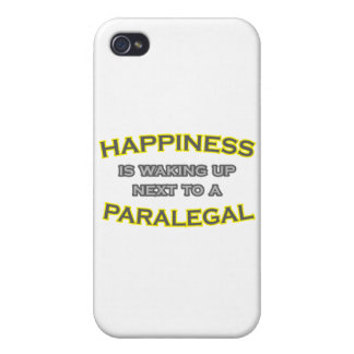 Happiness Is Waking Up Next To a Paralegal iPhone 4/4S Cases