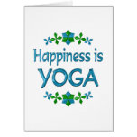 Happiness is Yoga Greeting Cards