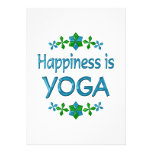 Happiness is Yoga Invite