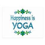 Happiness is Yoga Postcard