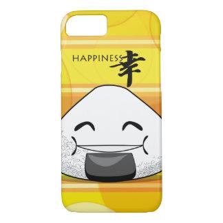 Happiness Japanese Manga Onigiri iPhone 7 Case