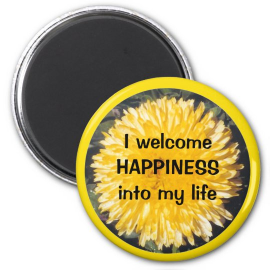 HAPPINESS - magnet