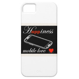 Happiness Mobile Phone Love iPhone 5 Covers