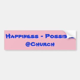 Happiness - Possible @Church sticker