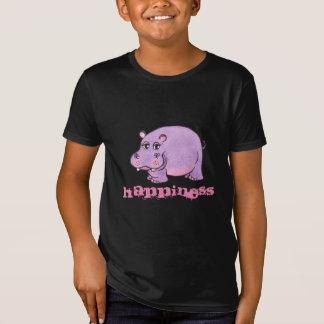 Happiness Purple Hippo - Tee