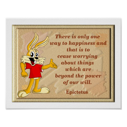 Happiness Quote - art print