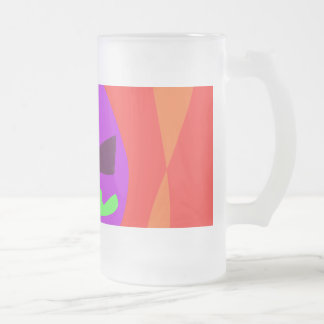 Happiness Tomorrow Future Hope Encouraging 40 Frosted Glass Mug