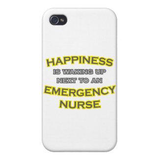 Happiness .. Waking Up .. Emergency Nurse iPhone 4/4S Case