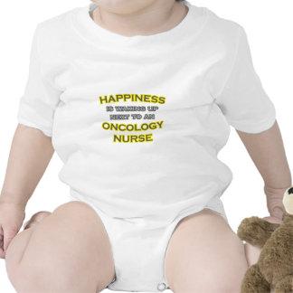 Happiness .. Waking Up .. Oncology Nurse Baby Bodysuit