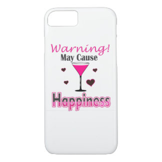 Happiness Wine Drinking IPhone Cover