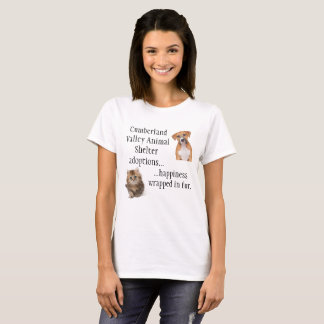 Happiness wrapped in Fur T-Shirt