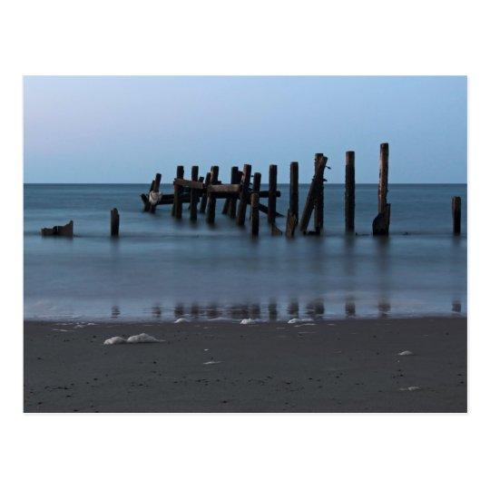 Happisburgh Beach Groynes Postcard