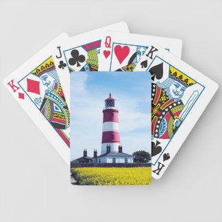 Happisburgh Lighthouse Bicycle Playing Cards