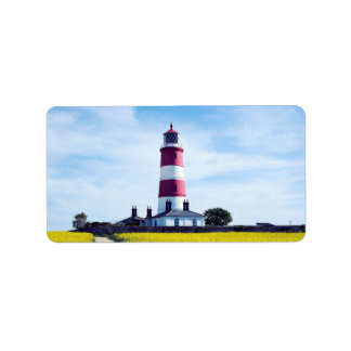 Happisburgh Lighthouse Label
