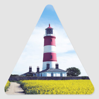 Happisburgh Lighthouse Triangle Sticker