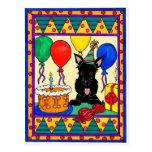 Happpy Birthday Scot Postcard