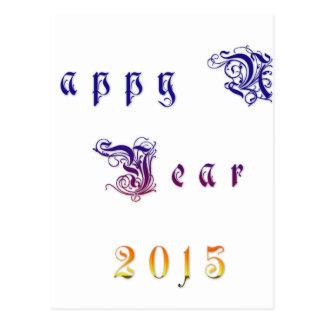 Happu New Year 2015 Hakuna Matata wishes.png Post Card