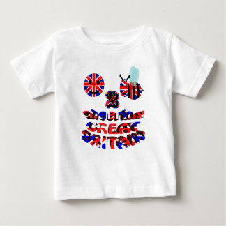 happy2bee cheering great britain t-shirts