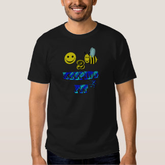 happy2bee keeping fit t-shirt